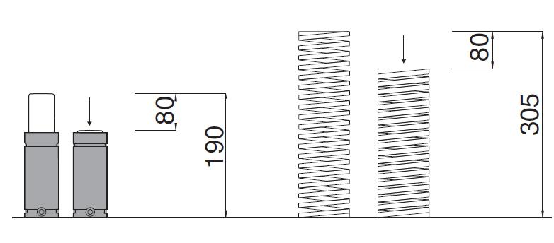 Размеры газовых