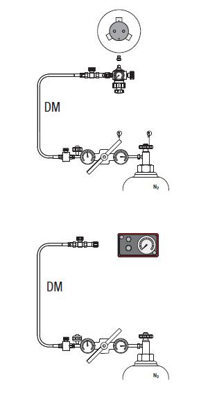 Дозаправка газовых