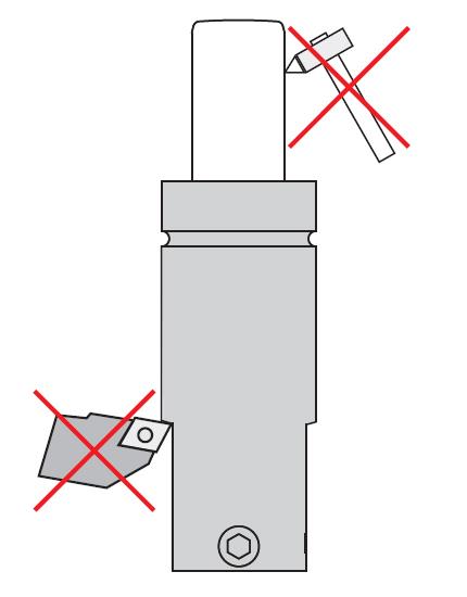 газовой пружины - избегать