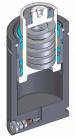 Инструментальная газовая пружина c нулевым усилием при контакте